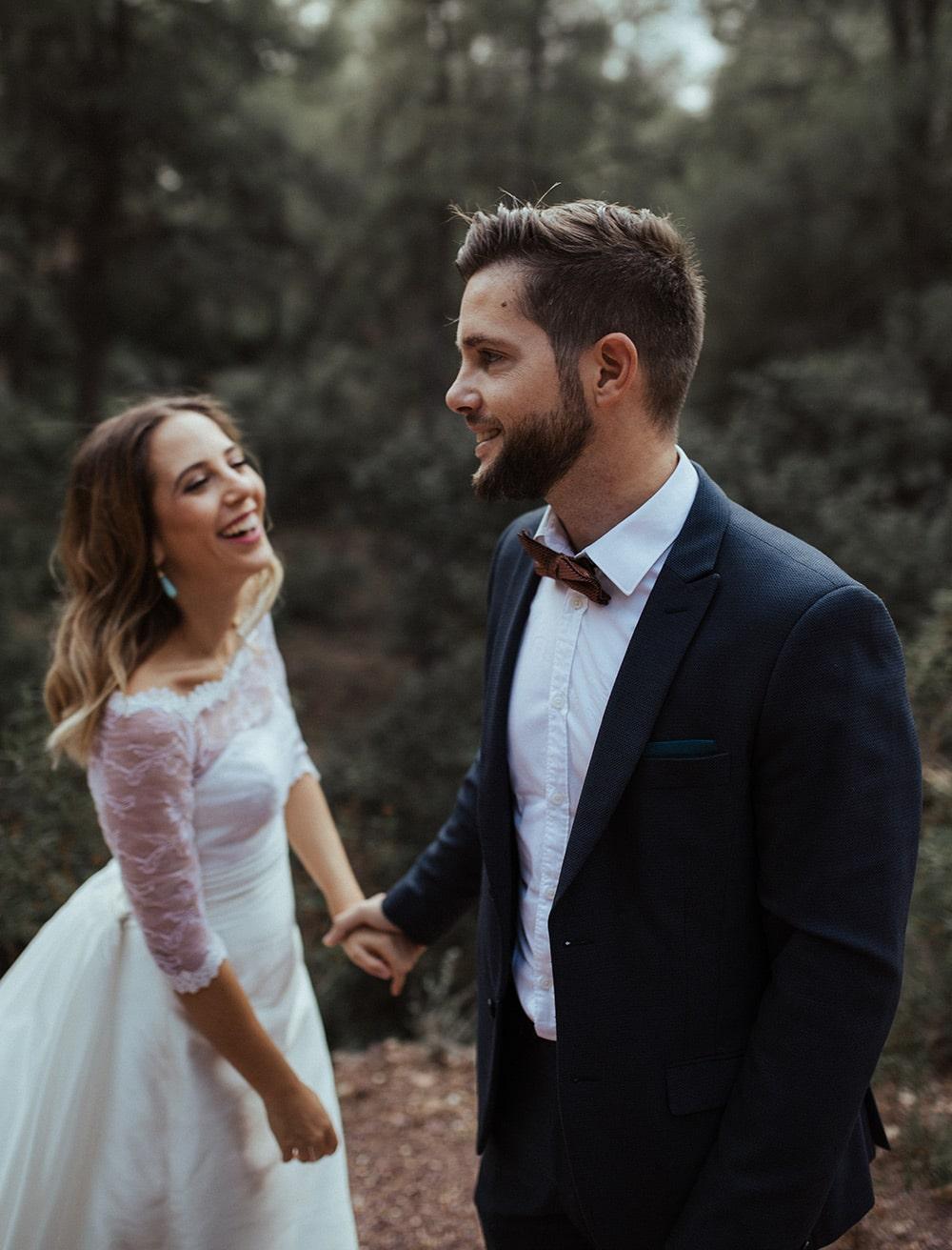 Fotografía pareja La Prometida