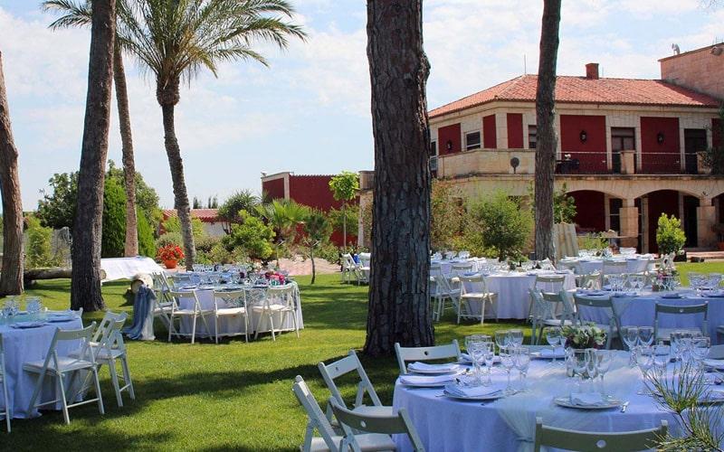 Mejor finca para bodas Murcia