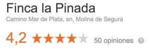 Opiniones Finca La Pinada