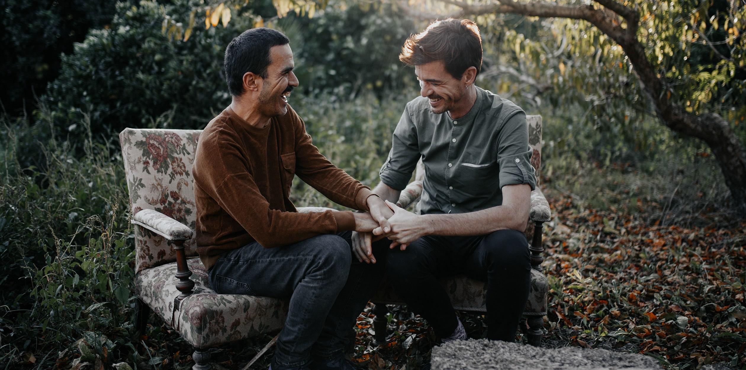 Fotografia pareja gay