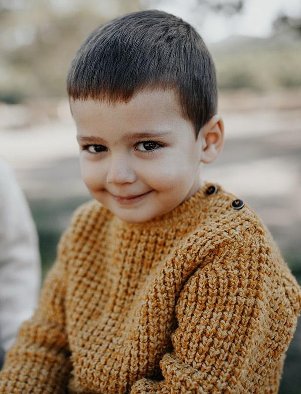 Foto de retrato infantil Murcia