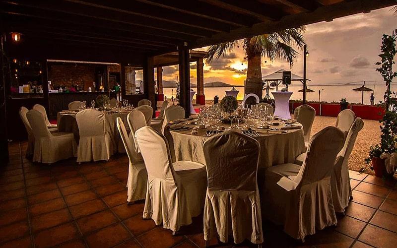 restaurante celebraciones playa Murcia