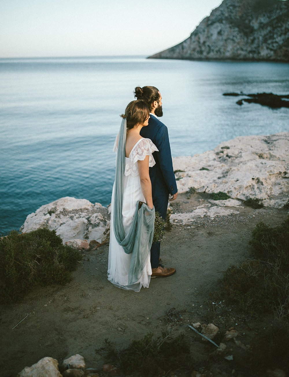 fotografía playa boda